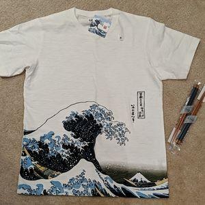 Hokusai Blue T-shirt